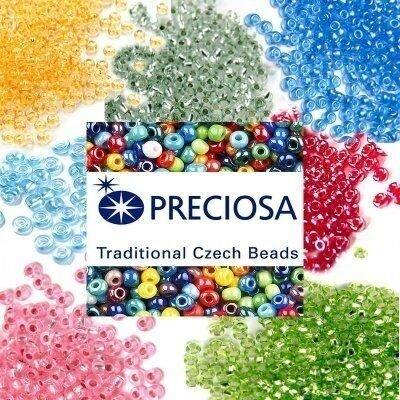 Купить Чешский бисер Preciosa 50 г - №17020 m по цене 95 руб. в интернет магазине slavyanochka-rukodelnica.ru